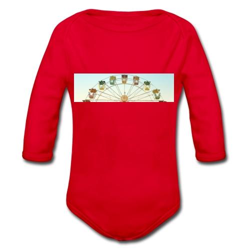 header_image_cream - Organic Longsleeve Baby Bodysuit