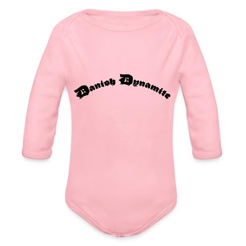 Danish Dynamite - Langærmet babybody, økologisk bomuld