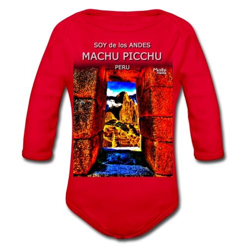 SOJA de los ANDES - Machu Picchu II - Body orgánico de manga larga para bebé