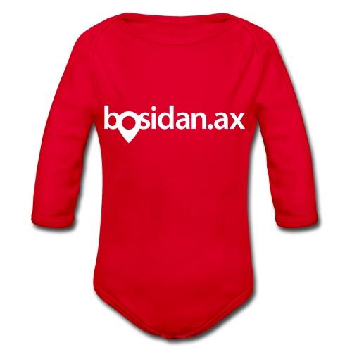 Bosidan.ax officiella logotypen - Ekologisk långärmad babybody
