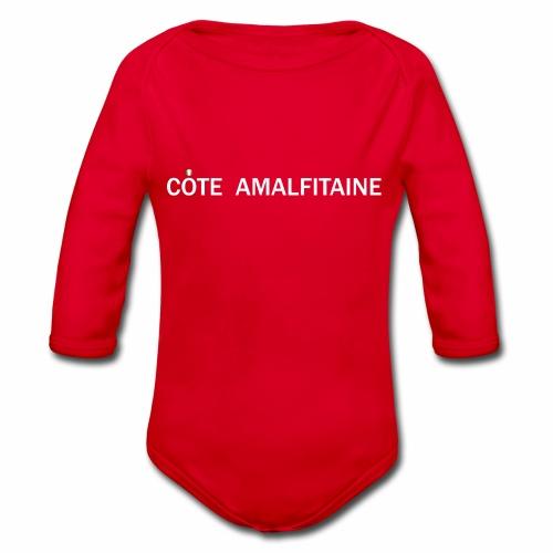 Côte Amalfitaine - Body Bébé bio manches longues