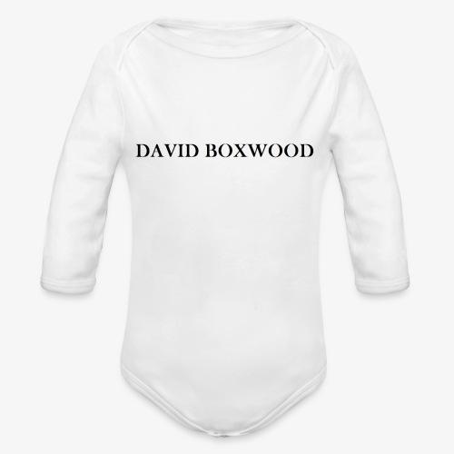 DAVID BOXWOOD - Body ecologico per neonato a manica lunga