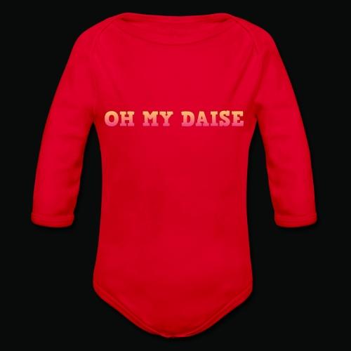 Oh my daise - Organic Longsleeve Baby Bodysuit