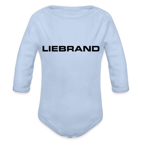 liebrand - Baby bio-rompertje met lange mouwen