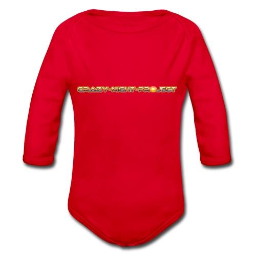 C-N-P Logo - Baby Bio-Langarm-Body