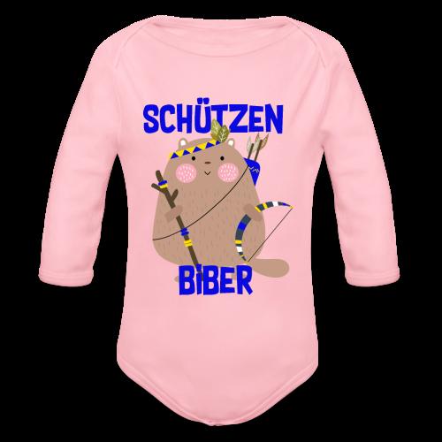 Schützenfest Biber Biberach Biberacher Schützen - Baby Bio-Langarm-Body