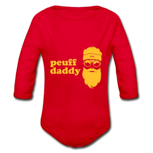 Peuff daddy - Body Bébé bio manches longues