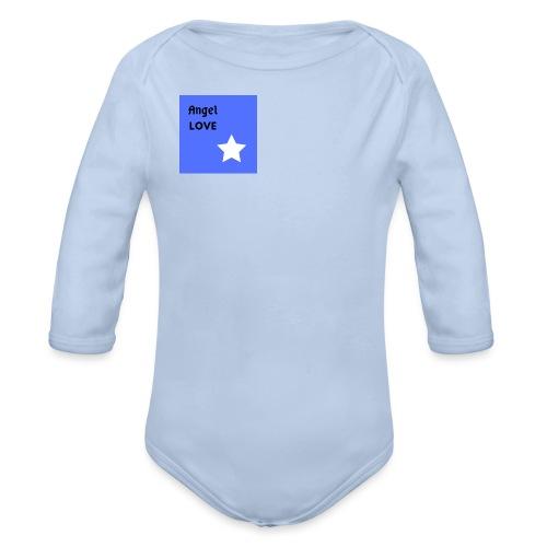 Happy Angel Love - Body ecologico per neonato a manica lunga