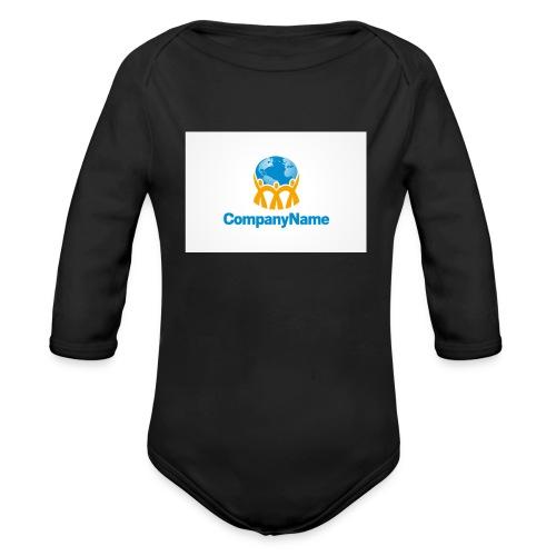 giro del mondo - Body ecologico per neonato a manica lunga