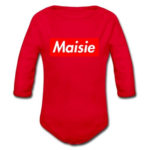 Maisie Supreme - Organic Longsleeve Baby Bodysuit