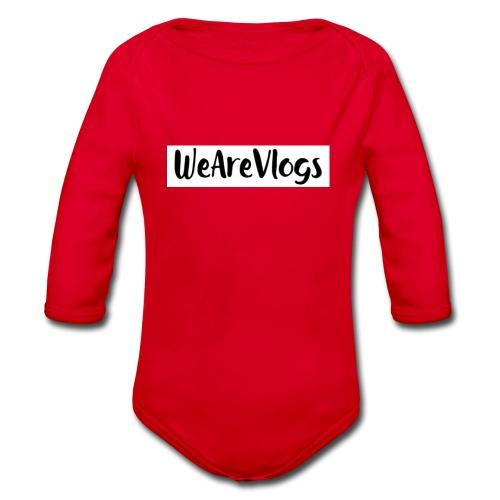 WeAreVlogs - Organic Longsleeve Baby Bodysuit