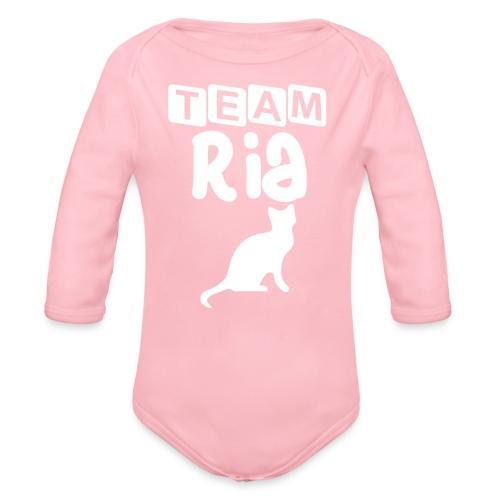 Team Ria - Organic Longsleeve Baby Bodysuit
