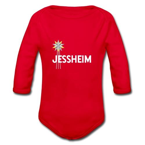 Jessheim Keplerstjernen Kepler Star - Økologisk langermet baby-body