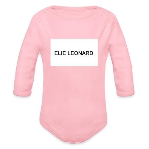 ELIE LEONARD - Body Bébé bio manches longues