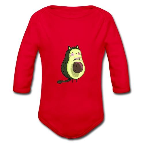 Catocado - Organic Longsleeve Baby Bodysuit