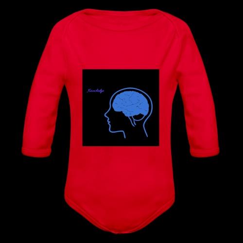 Knowledge - Organic Longsleeve Baby Bodysuit