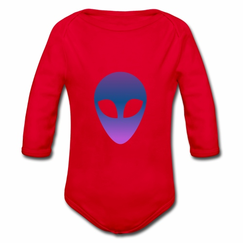 Aliens - Body orgánico de manga larga para bebé