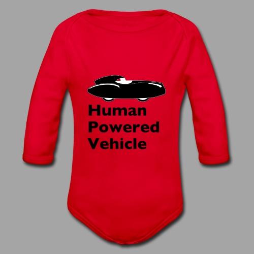 Quattrovelo Human Powered Vehicle black - Vauvan pitkähihainen luomu-body