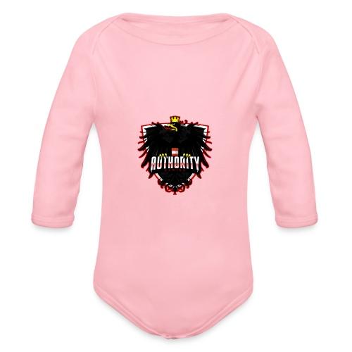 AUThority Gaming red - Baby Bio-Langarm-Body
