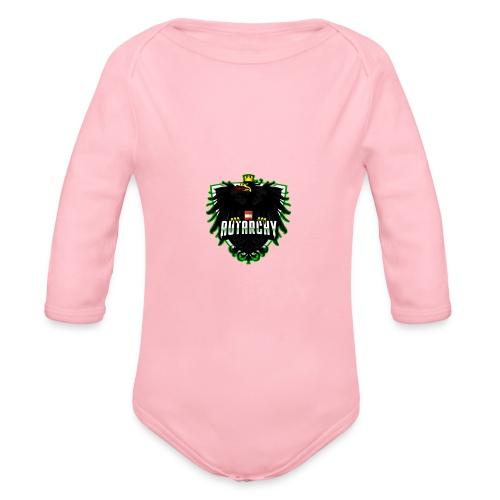AUTarchy green - Baby Bio-Langarm-Body