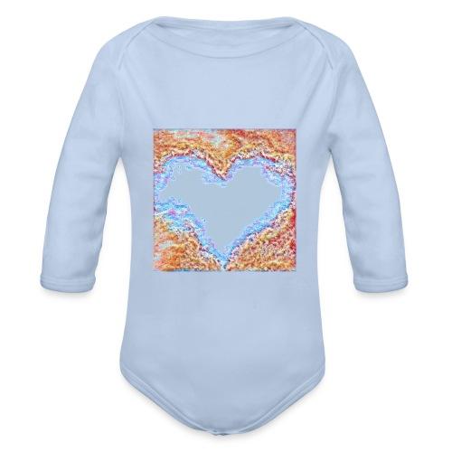 Hart - Body ecologico per neonato a manica lunga