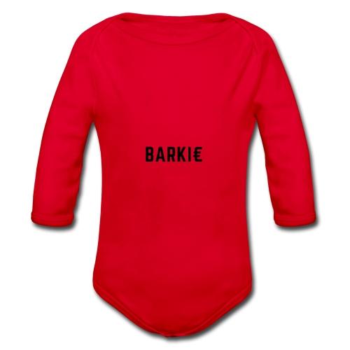 Barkie - Baby bio-rompertje met lange mouwen