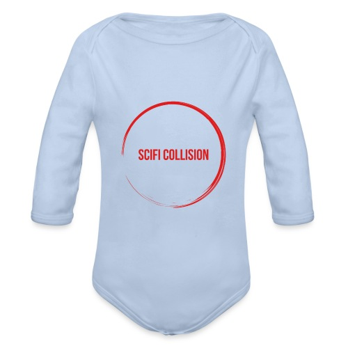 Red Logo - Organic Longsleeve Baby Bodysuit