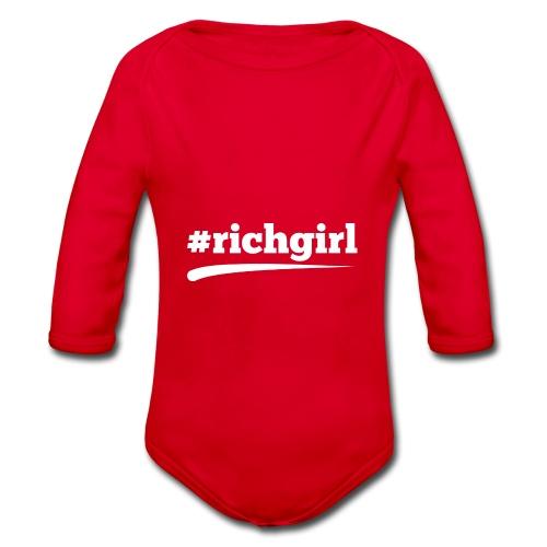 RICHGIRL - Baby Bio-Langarm-Body