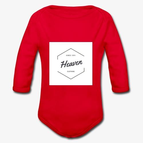 Heaven Since 1991 - Body ecologico per neonato a manica lunga