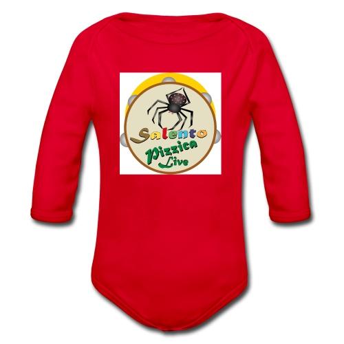 Salento Pizzica Live sf B - Body ecologico per neonato a manica lunga