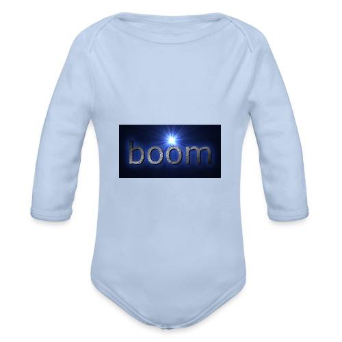 BOOOM - Ekologiczne body niemowlęce z długim rękawem