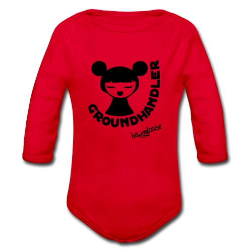 groundhandler m1 - Baby Bio-Langarm-Body