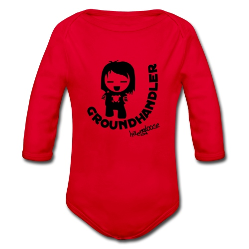 groundhandler b1 - Baby Bio-Langarm-Body