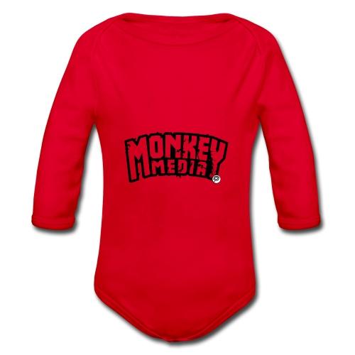 MonkeyMedia Wortlaut - Baby Bio-Langarm-Body
