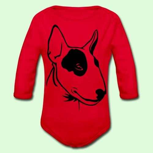 Bull Terrier - Body Bébé bio manches longues