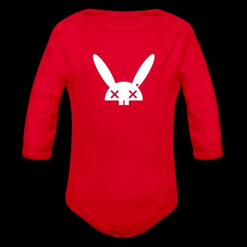 HARE5 LOGO TEE - Organic Longsleeve Baby Bodysuit