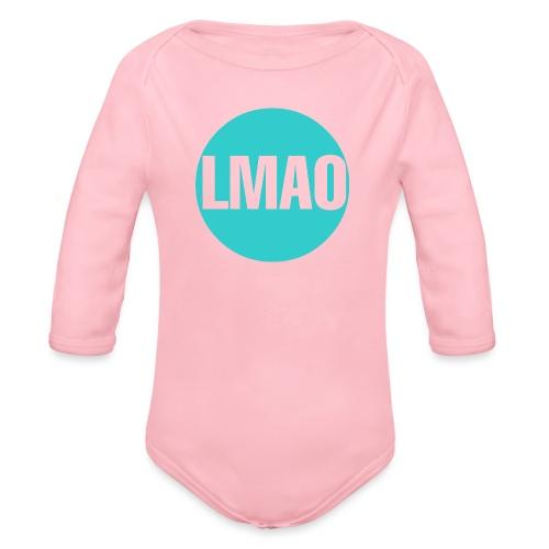 Camiseta Lmao - Body orgánico de manga larga para bebé