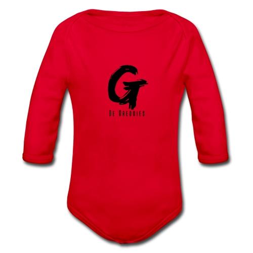 De Greggies - Sweater + capuchon - Baby bio-rompertje met lange mouwen