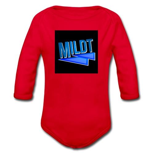 MILDT Muismat - Baby bio-rompertje met lange mouwen
