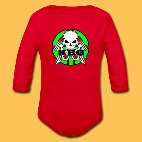 Felpa, maglia F2 KBG - Body ecologico per neonato a manica lunga