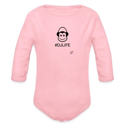#DJLIFE - Baby bio-rompertje met lange mouwen
