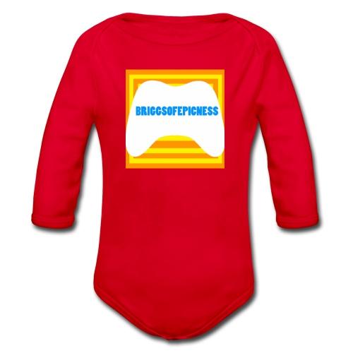 none - Organic Longsleeve Baby Bodysuit