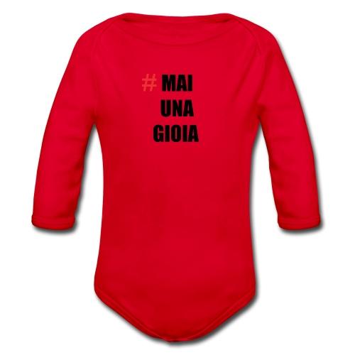 MAGLIA_1 - Body ecologico per neonato a manica lunga