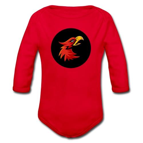 Maka Eagle - Organic Longsleeve Baby Bodysuit