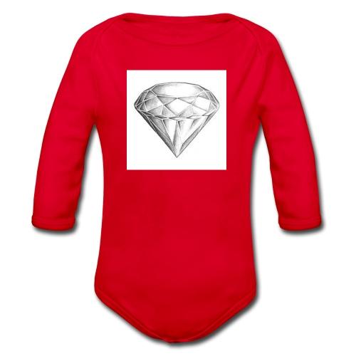 Diamond - Baby Bio-Langarm-Body