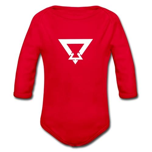 Jamie Cunningham Logo Design - Organic Longsleeve Baby Bodysuit