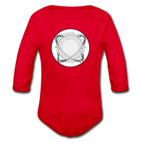 ISAC Logo - Baby Bio-Langarm-Body