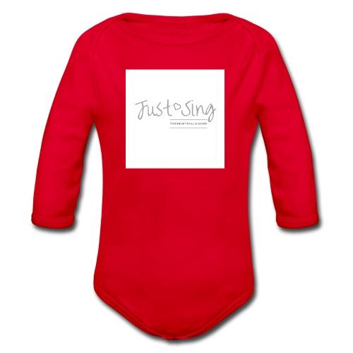 Just Sing - Organic Longsleeve Baby Bodysuit
