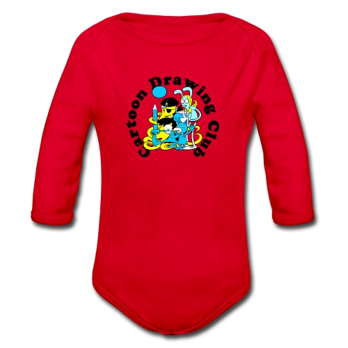 Cartoon Drawing Club - Organic Longsleeve Baby Bodysuit