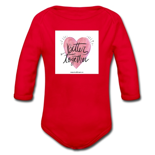 Better Together - Organic Longsleeve Baby Bodysuit